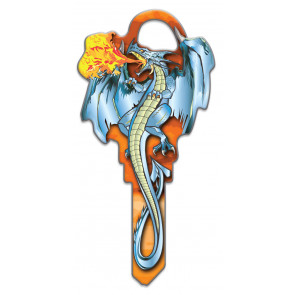 Key Shapes KW1/11 Dragon (5/Box) -by Lucky Line