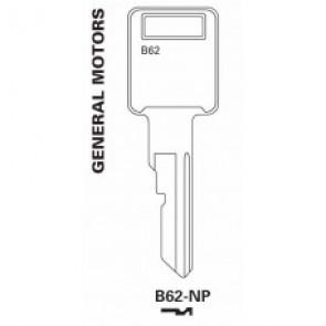 GM Key Blank -B62