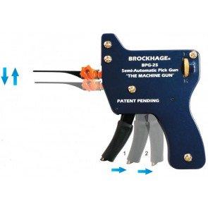 Semi-Automatic Lock Pick Gun