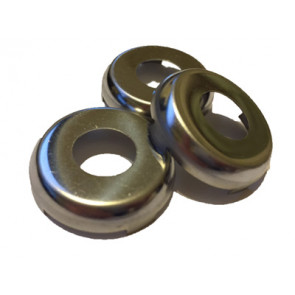 GM Door Lock and Trunk Caps (Chrome) Set of 3