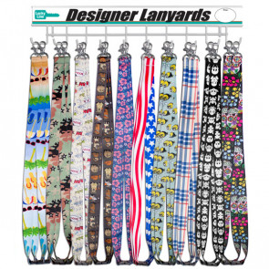 Designer Lanyards Wall Display (100/PC) -by Lucky Line