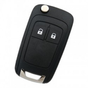 GM 2-Button Flip-Style Remote Head Key 433MHz -by Kee-Co