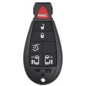 Chrysler / Dodge 6-Button Fobik Remote (FCC ID: IYZ-C01C, M3N5W783X) Philips 46 433Mhz -by Kee-Co