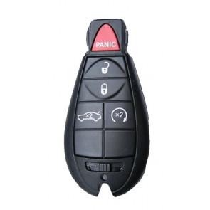 Chrysler / Dodge 5-Button Fobik Remote (FCC ID: IYZ-C01C, M3N5W783X) Philips 46 433Mhz -by Kee-Co