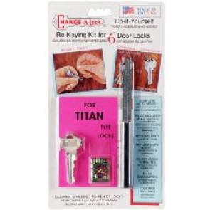 Change-A-Lock Kit for Kwikset Titan