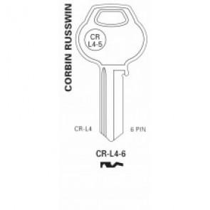 CorbinRusswin Keyblank, CorbinRusswin RU101, CR-L4-6, A1011-L4