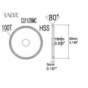 Replacement Cutter CU11-26MC