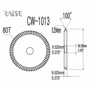Replacement Cutter CW-1013