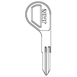 Nissan Key Blank (DA30-NP, DAT-14, X198)