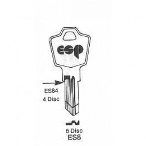 ESP Cabinet Lock Blank (ES8, 1502)