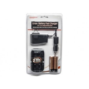 PowerTac Li-ion Battery Fast Charger (FAS-P)