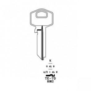 Harloc / Tesa Keyblank (50) NP