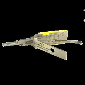 GM, Cadillac Cantara, Opel (HU46) 2-in-1 Lishi Tool
