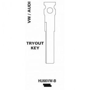 HU66VW-B key blank