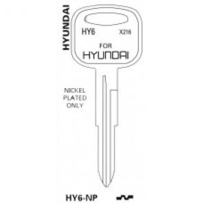 Hyundai Key Blank (HY6-NP, HY-4, X216)