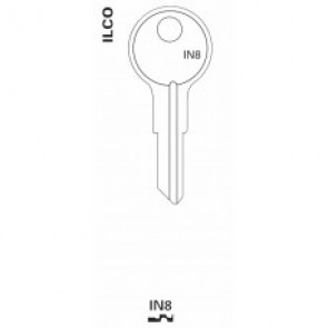 YA-11D NP - Ilco Keyblank, IN8
