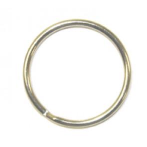 """7/8"""" Split Key Ring - Quantity: 100/Bulk"""