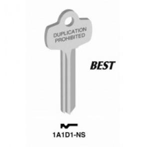 Best Key Blank (NS) 1A1D1-NS