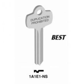 Best 'E' Key Blank (NS) (Jet)