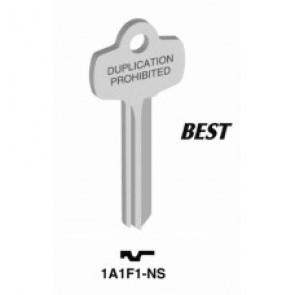 Best 'F' Key Blank (NS) (Jet)