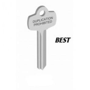 "BEST ""TD"" Key Blank (NS) (Jet)"