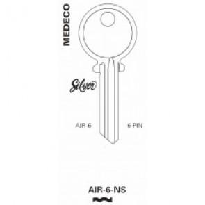 Medeco 6-Pin Key Blank