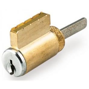 """GMS Schlage """"C"""" keyway 5 Pin Knob Cylinder (K001SC4A2) Brass"""