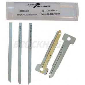 AccuReader for the Honda HD68/68R keyway