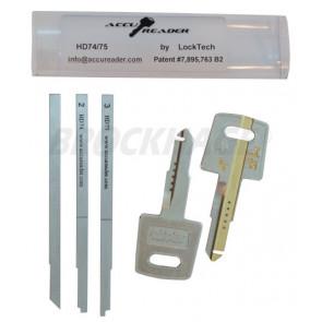 AccuReader for the Honda HD74/75 keyway