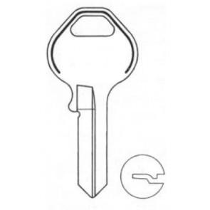 Master Lock (M16-BR,1092NR) Key Blanks