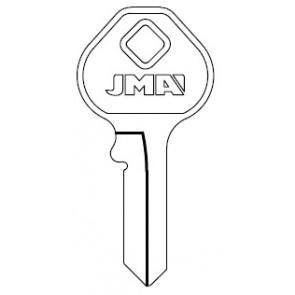 MASTER M4 Key Blank (NP)