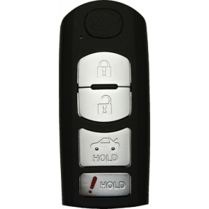 Mazda 4-Button Remote (FCC ID: WAZSKE13D01) 315 Mhz -by Kee-Co