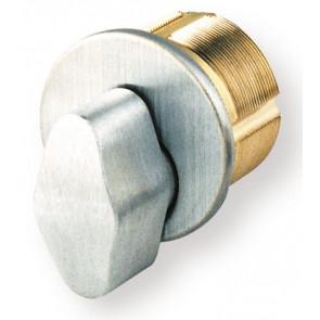 "GMS 1-1/8"" Mortise T-Turn Cylinder (M118T10BST) Bronze"