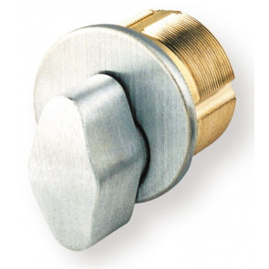 "GMS 1"" Mortise T-Turn Cylinder (M100T26DAR) Chrome"