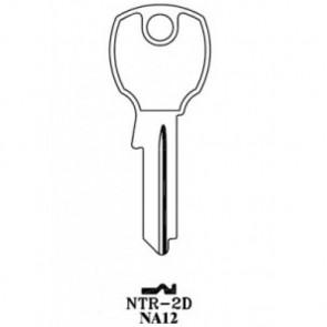 National Cabinet / Rockford (NA12, 1069LB, NTR-2D) BR Key Blank