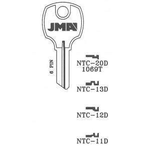 National Cabinet (NTC-12D, D8788) Key Blank NP