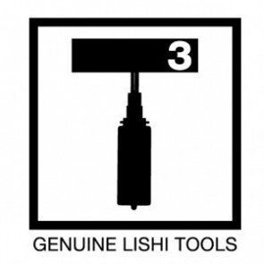 Mitsubishi, GM, Chrysler (MIT1, MIT8, MIT12) Lishi 2-in-1 (New T3 Tool)