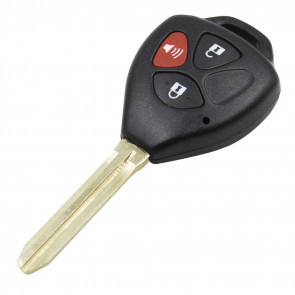 Toyota 3-Button Remote Head Key Shell -by Kee-Co