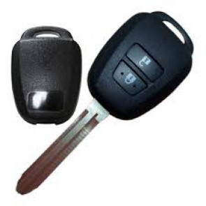 Toyota Rika 2-Button Remote Head Shell Key -by Kee-Co