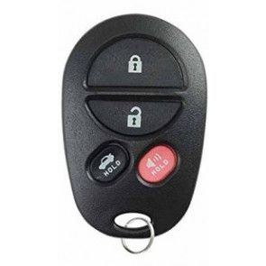 Toyota Highlander 4-Button Remote w/ Trunk (FCC ID: GQ43VT20T) 315Mhz -by Kee-Co