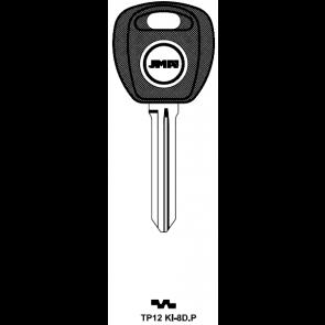 Kia (TP12KI-8D-P) Transponder Key