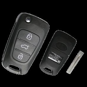 Hyundai ix35 3-Button Flip Remote Key -by Kee-Co