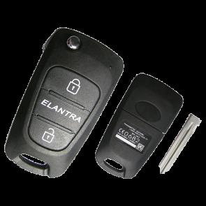 Hyundai Elantra Remote Flip Key -by Kee-Co