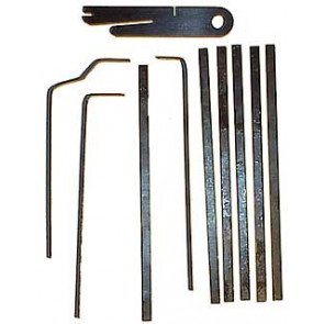 U-BEND-IT Assorted Tension Wrench Set