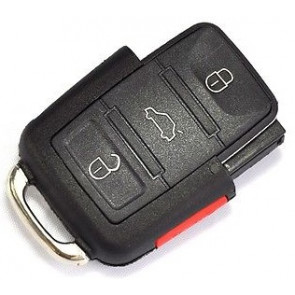 Volkswagen 4-Button Remote w/ Trunk (FCC ID: 1K0-959-753-H) 315Mhz -by Kee-Co