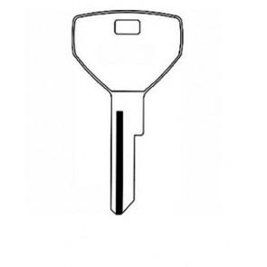 Chrysler Key Blank (Y153-NP, CHR-18E, P1786)
