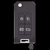 Smart4Car Flip Key Housing w/ GTI Transponder -by Ilco
